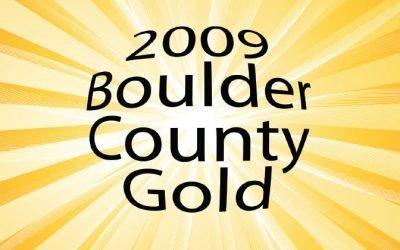 2009 Boulder County Gold