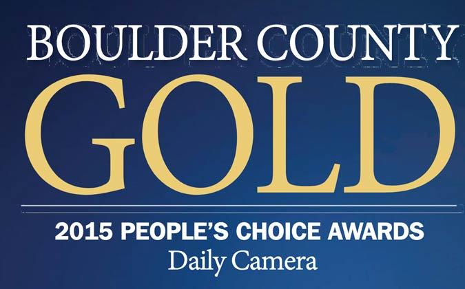2015 Boulder County Gold