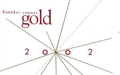 2002 Boulder County Gold